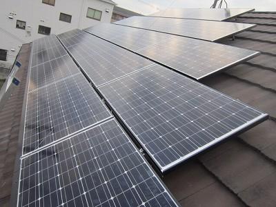 太陽光発電システム設置工事|交野市