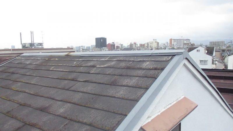 寝屋川市の屋根塗装工事