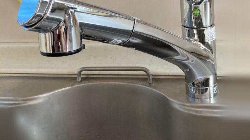 台所の蛇口から水漏れ 水栓取替工事 寝屋川市