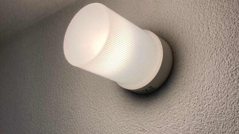 浴室照明器具取替工事 寝屋川市