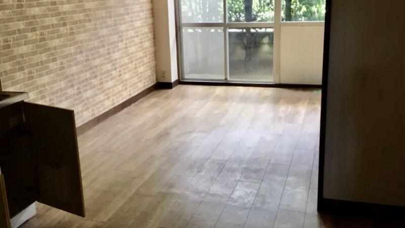 賃貸マンション一室洗い工事 寝屋川市