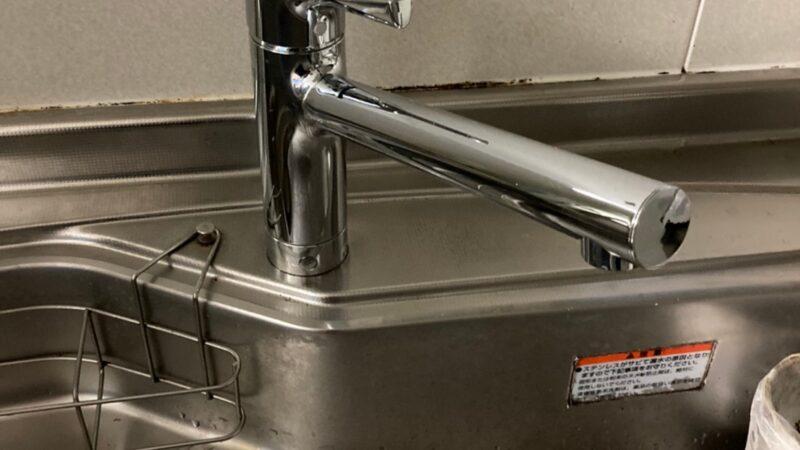 台所蛇口の元がぐらぐらしてる 水栓取替工事 寝屋川市
